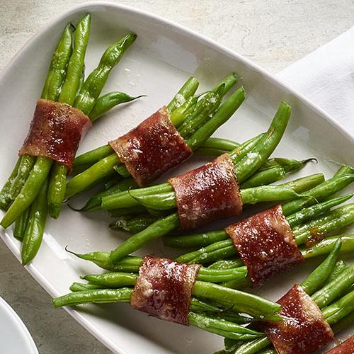 Green Bean Turkey Bacon Bundles